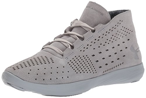 Lux Mid B Precision Overcast Shoes Under Lifestyle Street 10 Women's Armour M Gray Steel US w7gzqnIX
