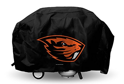 Rico NCAA Oregon State Beavers Deluxe Grill Cover, 68 x 21 x 35-Inch, Black