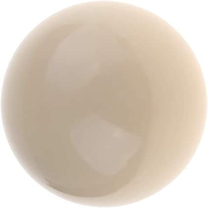 IPOTCH Boule Bille Blanche de Billard pour Pratique de Snooker Standard 5.2cm