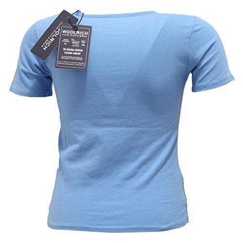 4737s Kid Maglia T Blu Azzurro Bikers Bimbo American Woolrich shirt rrwOSqP