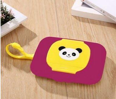 Whobabe Cartoon portátil bebé caja para toallitas húmedas de viaje Estuche para toallitas para bebé (caja rosa roja): Amazon.es: Hogar