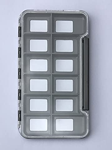 Guide Tools Pro-Series Slim Hybrid Fly Box - Latch Closure (Original, 12 Magnetic Compartments) - 12 Compartment Fly Box