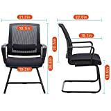 CLATINA Office Guest Chair with Lumbar Support and