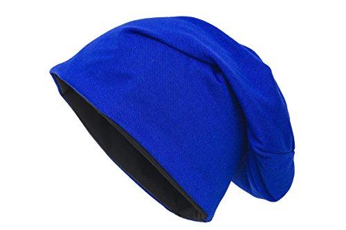 Azul Shenky de negro y real punto Gorro Unisex R81r1Iq