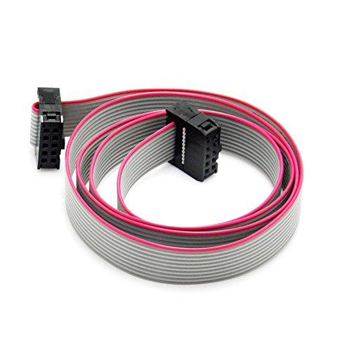 - Gikfun 70CM 10 Pin USBISP JTAG AVR Download wire for Arduino EK1282
