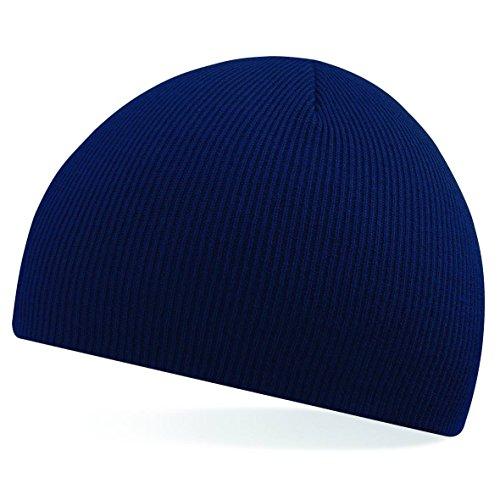 Tire de la gorrita tejida de Beechfield - elegir entre 11 colores azul marino