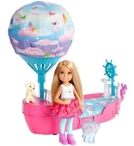 Boneca E Barco Barbie - Barbie Dreamtopia - Chelsea Com Barc