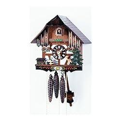Cuckoo Clock Half-timbered, Deer