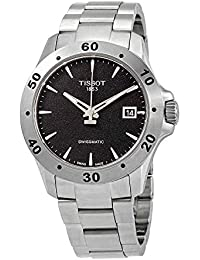 Men's V8 Swissmatic Stainless Steel Automatic Watch T1064071105100