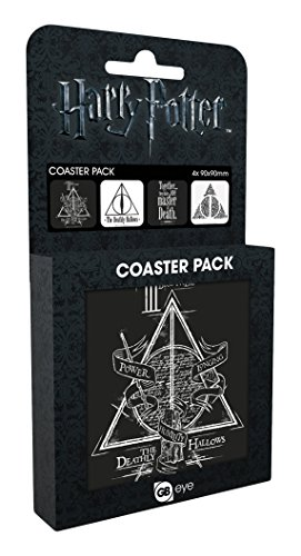 Harry Potter Coaster 4-pack Deathly Bicchieri Boccali by GYE