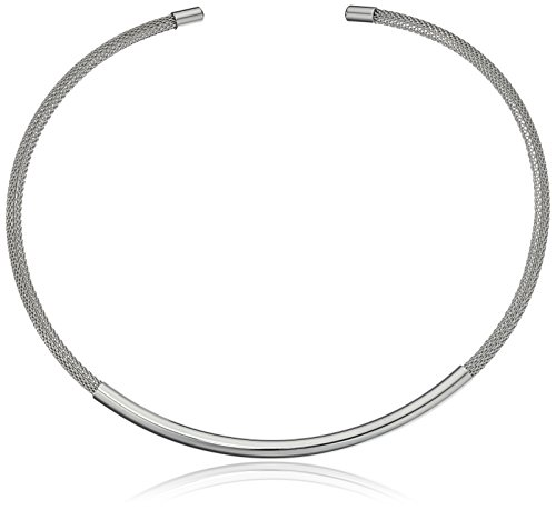 Skagen Elin Steel Mesh Collar Necklace