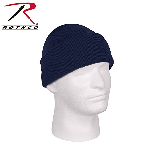 Rothco Deluxe Fine Knit Watch Cap, Navy Blue