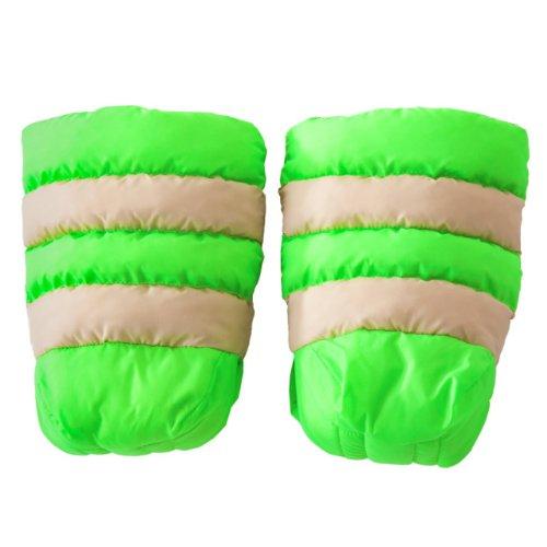 7A.M. ENFANT WARMMUFFS stroller Handomafu HM212b Beige / Neon Green by 7A.M. Enfant