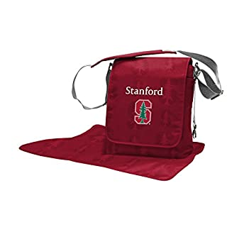 Lil Fan NCAA College Collection Diaper Messenger Bag, Stanford
