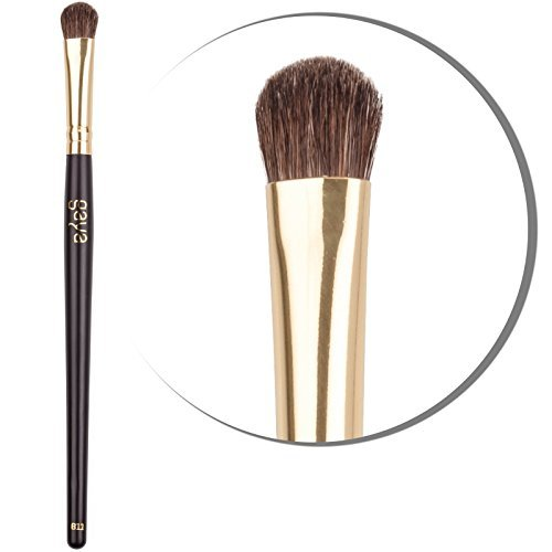 Eyeshadow Applicator Makeup Brush - B11 Vegan Premium Soft Dense Synthetic Hair Fibers Eyeshadows Brush - Professionally & Easily Apply to Achieve Optimal Results
