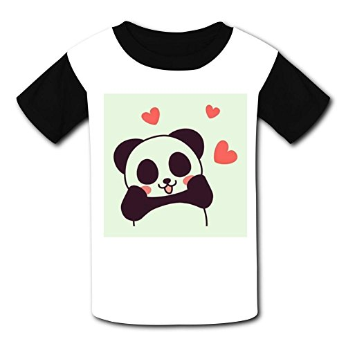 Most Popular Panda Love Kids Tee T-Shirt 3D Prints Costume S