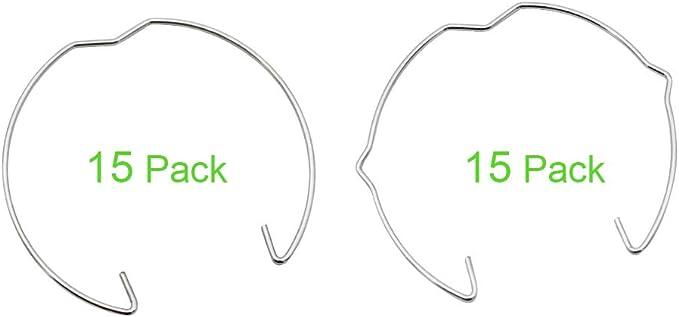 SPTwj Paquete de 30 anillos de resorte MR11 de retenci/ón clips de cierre de 35 mm de di/ámetro luz LED para foco hal/ógeno