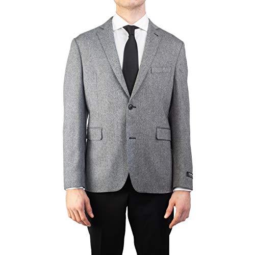Saks Fifth Avenue Men's Cashmere Sports Coat Suit Jacket Grey