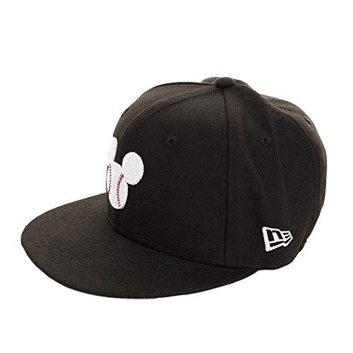 ニューエラ NEW ERA 帽子 5950 DISNEY MICKEY BALL キャップ ブラック 7 3/8