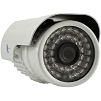 LineMak IR Bullet camera, 1/4 HD Digital Sensor, 700TVL, 3.6mm lens, 36pcs LEDs, 65ft IR distance night vision, IP66 Weatherproof, IR-CUT Filter, for DVR or surveillance systems.