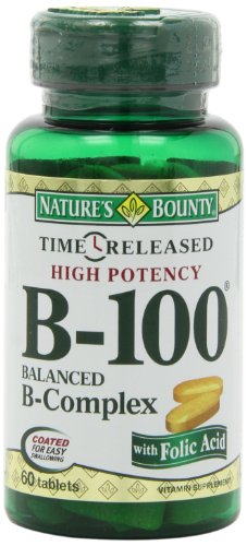 Natures Bounty Released B 100 60 Count