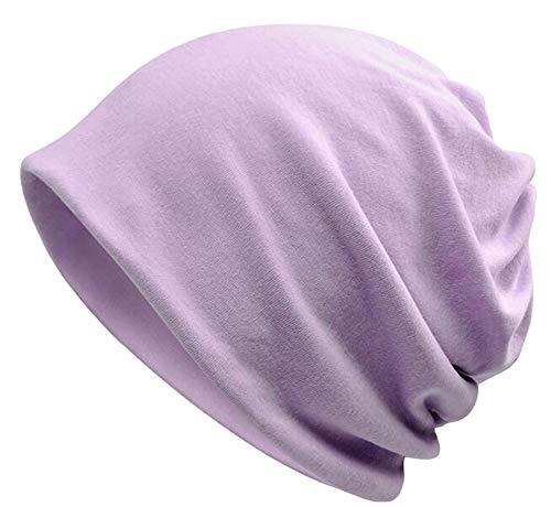 (Qunson Women's Baggy Slouchy Beanie Chemo Hat Cap Infinity)