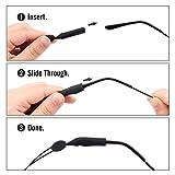 MoKo Adjustable Glasses Strap, [4 Pack] Universal
