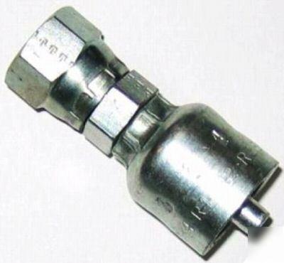 Parker 1C343-28-16 Female Swivel Metric L 28 mm X 1 IN Hose Steel