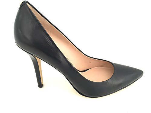 Guess Cleavage Woman Shoes Plasmia 6 Pumpo Heel Cm 10,6 Leather Black