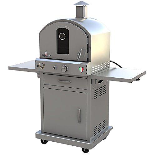 Lava Heat Italia - AMAZON-124 - Stainless Steel Finish - Propane Configuration