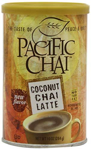 Chai Tea Latte Mix 10 OZ Regular (Coconut Chai, Pack Of 6)