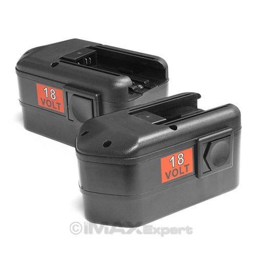 2 x NEW 18V 18 VOLT BATTERY for MILWAUKEE 48-11-2230 ()