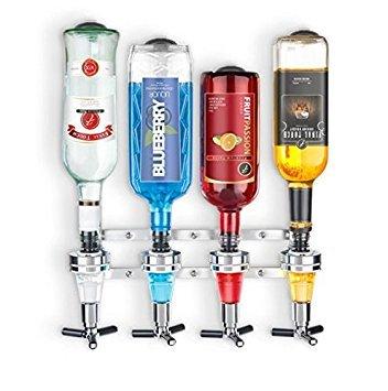Final Touch Wall Mounted Liquor Dispenser (Wall Mounted Wine Dispenser)