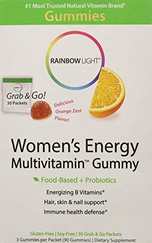 Rainbow Light Womens Multivitamin - Energy - Gummy - 30 Pack