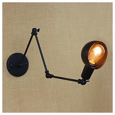 110-240V 40W bras long de la personnalité de l'angle réglable Trois Bar Salon rétro éclairage lampes applique murale décorative