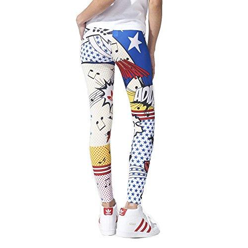 ef55edd556522 Adidas Originals Women's Rita Ora Super Logo Leggings-White-XL - Buy ...