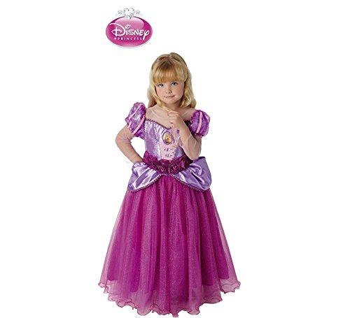 Disfraz de Rapunzel premium de Disney para niña: Amazon.es: Juguetes y juegos