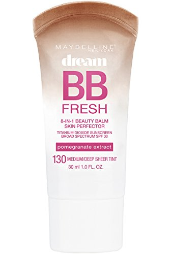 Maybelline New York Makeup Dream Fresh BB Cream, Medium/Deep Skintones, BB Cream Face Makeup, 1 fl oz