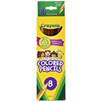 Crayola C LLC MULTICULTURAL 8 CT coloreado (juego de 6)