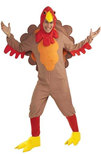 Forum Novelties Fleece Turkey Adult Costume-