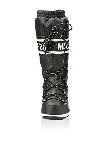 Moon Boot - Chaussure Après Ski Moon Boot Duvet II Noir / Blanc - Femme