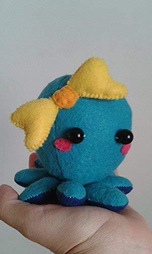 Octopus Plush - choose colors - cute baby octopus plushie - stuffed octopus plush toy - Little octopus plushie - Adorable octopus