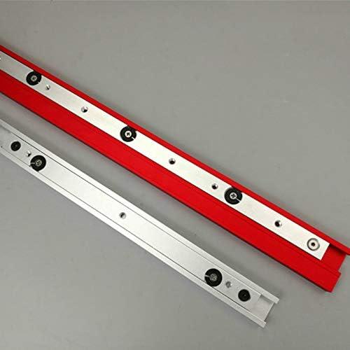 TQ Rutsche Aluminiumlegierung T-Schienen Modell 45 T-Nut und Standard-Gehrungsstopp-Holzbearbeitungswerkzeug f/ür Werkbank-Fr/ästisch