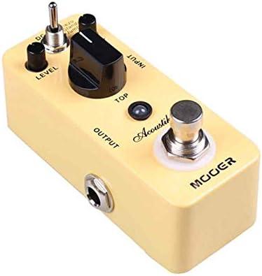 Acoustikar Simulador Acústico Efecto Guitarra Pedal 3 Modos de ...