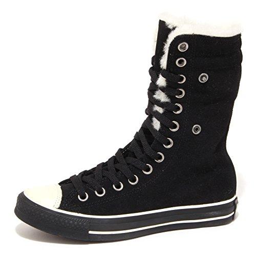 scarpa sneaker donna shoe CONVERSE ALL STAR woman Nero nero 7336P w4qdxaAWxX