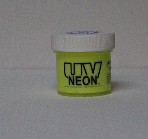 Chartreuse UV Black Light 2oz, Neon, Rave, Fluorescent, Acrylic -