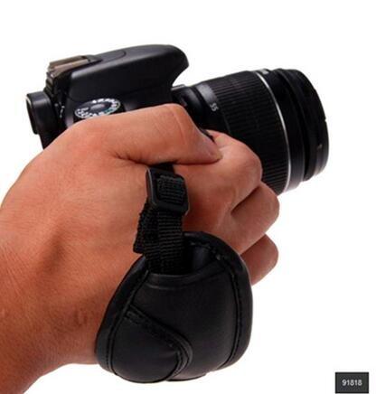 Correa de mano piel sintética correa de mano para cámara réflex ...