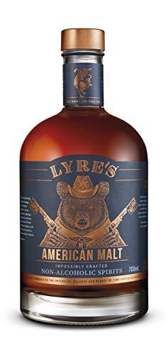🥇 Lyre's American Malt Non-Alcoholic Spirit – Bourbon Style | Award Winning | 23.7 Fl Oz