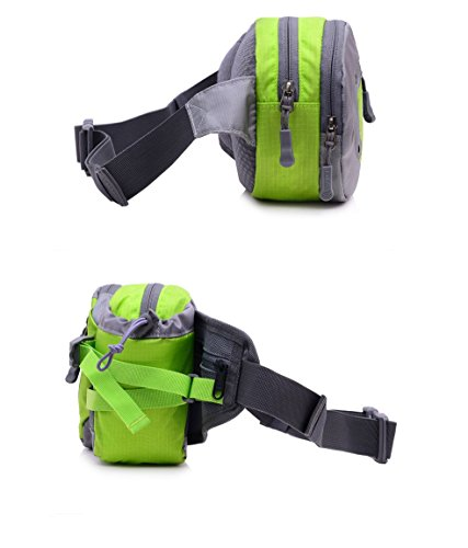Holder Bag Multifunctional Camping Sport Bottle Belt Kadcope Hiking Black For Hip With Travel Outdoor 1gwZq