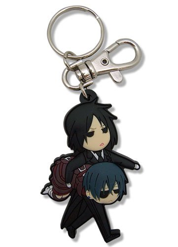 Great Eastern Entertainment Black Butler Dinner PVC Keychain 36645